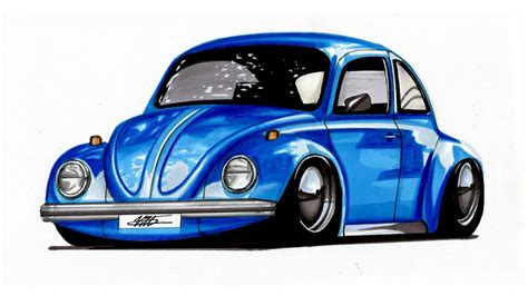 volkswagen drawing car drawing volkswagen beetle lapse