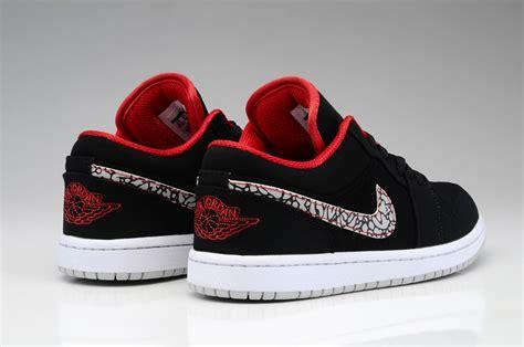 air jordan 1 low men c aj1 nike air jordan 1 retro mens shoes low black red