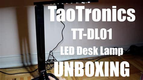 taotronics elune desk l taotronics elune tt dl dimmable led desk l piano black