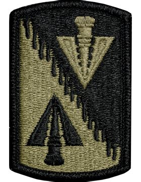 operational camouflage pattern unit patches ocp unit patch 128th aviation brigade with fastener