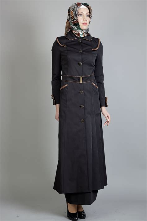 model hujab islamic topcoat clothing for hijab girls and women 2013