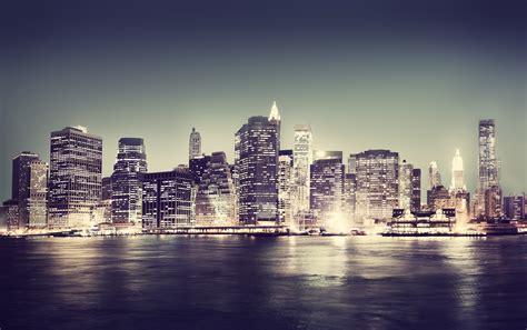 york lights tapeter med byer bymotiver fototapeter citytapeter