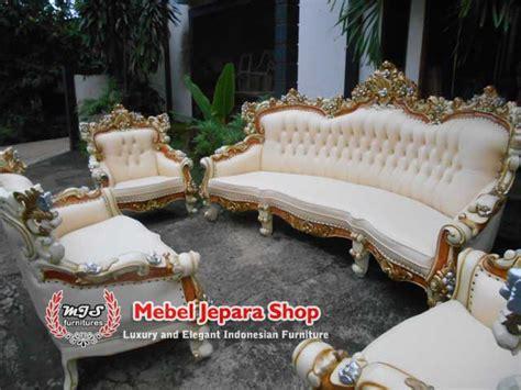 Kursi Bambu Satu Set kursi tamu barcelona mewah asli jepara mebel jepara shop