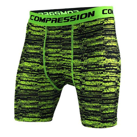 Camouflage Drying Compression Boxer mens crossfit camouflage tight shorts running