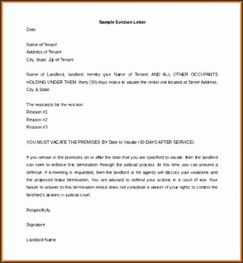4 eviction notice sle sletemplatess