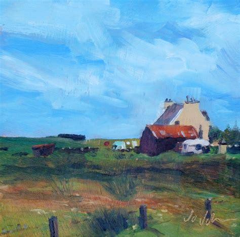 Cottage Isle Of Lewis by Isle Of Lewis Jo Johnson