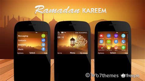 nokia asha 210 islamic themes ramadan kareem theme s40 320x240 asha 302 asha 200
