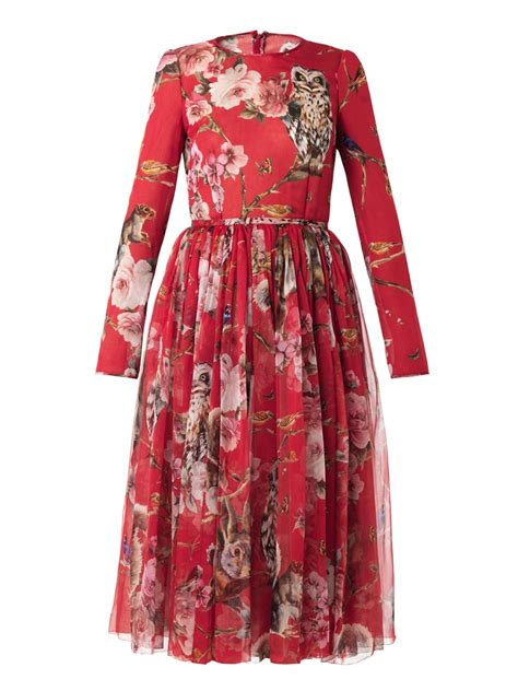 Dres Gabbana Dolce dolce and gabbana floral dress