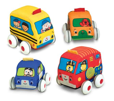Toddler Toys - doug k s pull back vehicle set