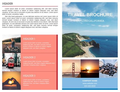 examples of travel brochures spulsa idea