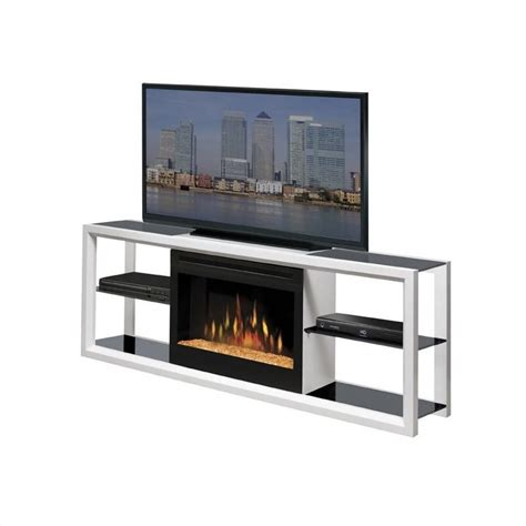 Portable Fireplace Tv Stand by Dimplex Novara W Electric Fireplace Tv Stand Ebay