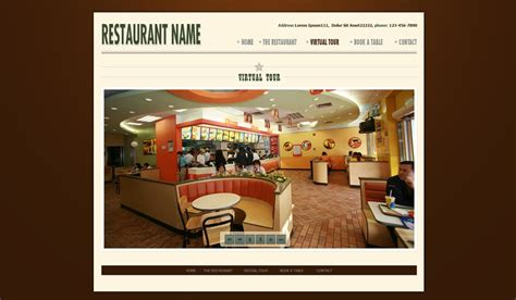 templates for restaurant website restaurant website template free restaurant web
