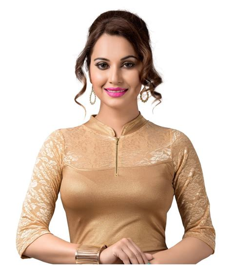 Aurey Blouse N1 3 ishin gold blouse buy ishin gold blouse at low price snapdeal
