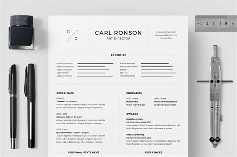 Resume Samples Word File by 40 Best 2018 S Creative Resume Cv Templates Printable Doc