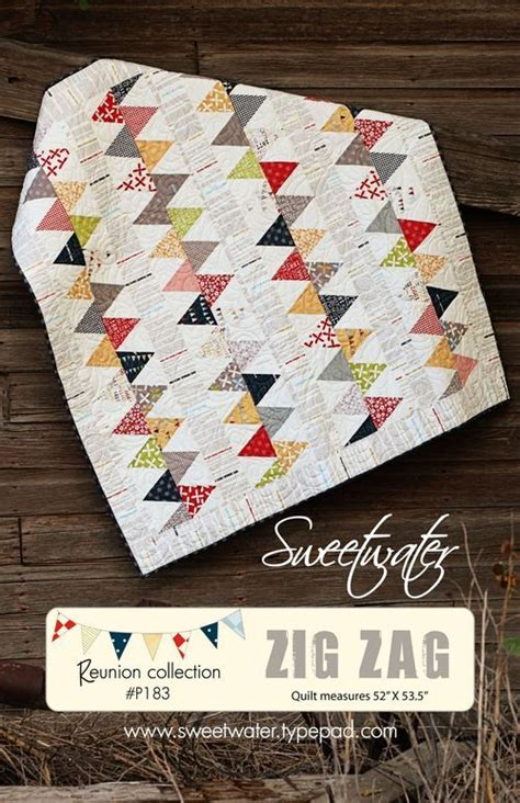 zig zag love pattern another sweetwater quilt that has me giddy i love every