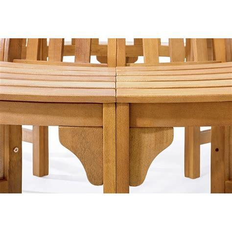 panchina in legno panchina circolare in legno da giardino per giro albero