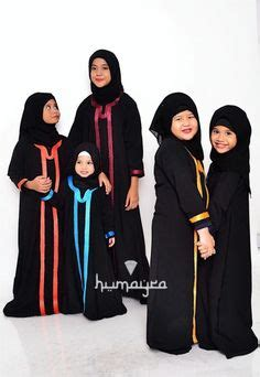 Gamis Meira Set Syarie Gamis Muslimah Fashion Dress black muslimah sleeve maxi dress small