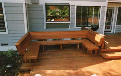 deck bench seats old house redwood benches decks ideas house ideas