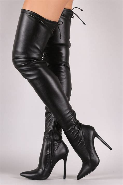 dollhouse 01 vostfr the knee leather high heel boots 28 images winter