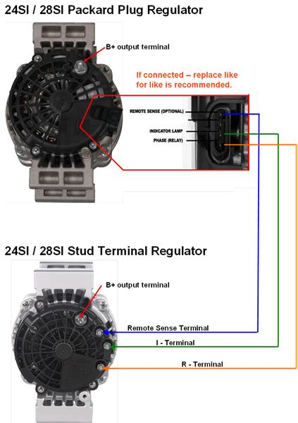 24si alternator wiring diagram delco remy alternator