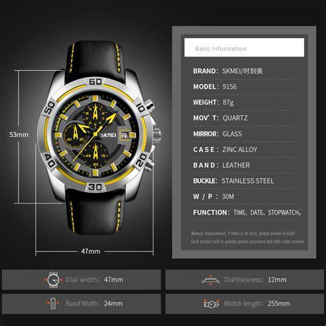 Jam Tangan Wanita Bum Equipment skmei jam tangan analog pria 9156 black jakartanotebook