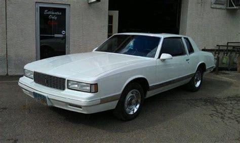 buy used 1987 chevrolet monte carlo coupe 2 door 4 3l