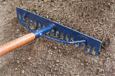 Landscape Soil Rake Free Stock Photo 9859 Raking Soil For Planting