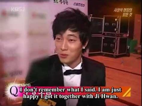 so ji sub interview engsub so ji sub red carpet interview youtube