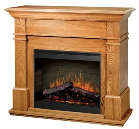 Dimplex Oak Electric Fireplace by Electric Fireplaces From Portablefireplace