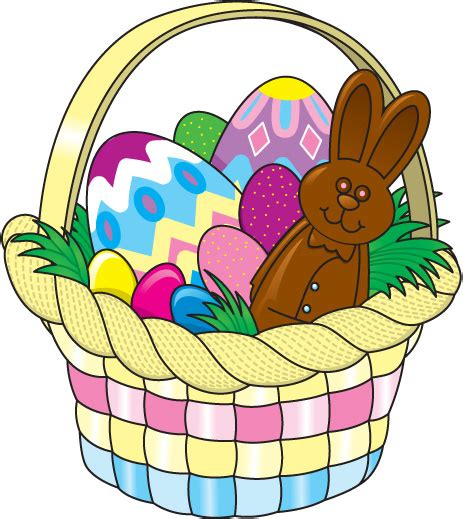 Easter Basket Clipart easter baskets pictures clipart best