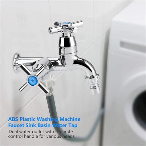 rubinetto a muro per lavatoio g1 2 plastica rubinetto miscelatore lavello a parete