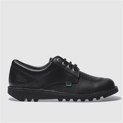 Kickers Safety Boots Adventure Black Leather kickers black lo flat shoes bluewater 163 80 00