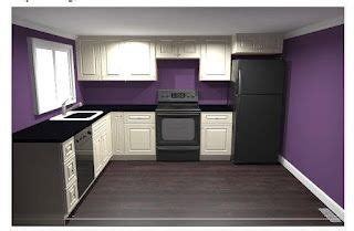 purple kitchen paint color for downstairs kitchen purple and teal couleurs de