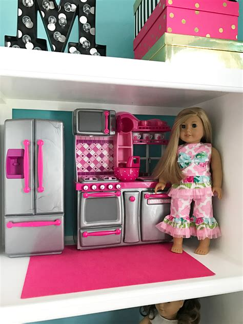 How To Make A DIY American Girl Doll House From An Old Media Stand