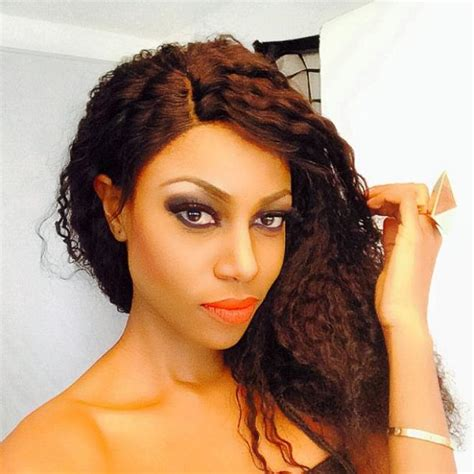 ghana celebrities and weave ons yvonne nelson steps out with natural hair information