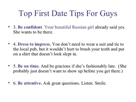 Dating And Tipping by Date To Meet Beautiful Russian