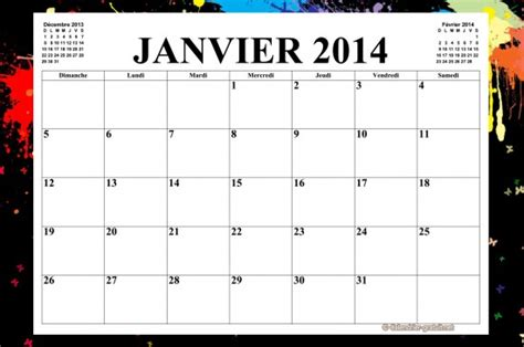 Calendrier X 2014 Image Gallery Calendrier Mensuel 2014