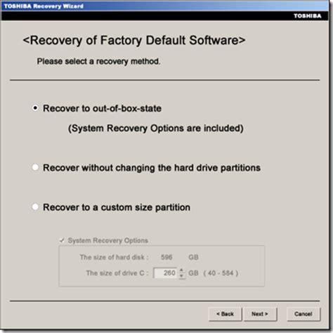 drive out artinya cara recovery windows original pada laptop ke settingan