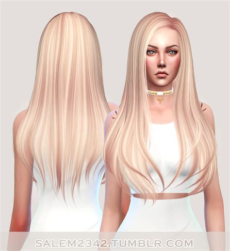 sims 4 hair b flysims hair 145 retexture ts4 standalone 40 swatches