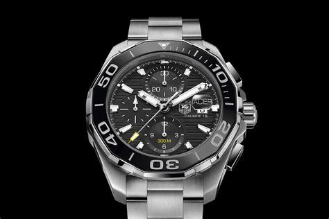 Tag Heuer Aquaracer 300m Swiss Clone 1 1 1 tag heuer fortifies the aquaracer 300m with a ceramic bezel specs price monochrome watches