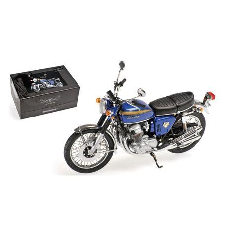 Diecast Vespa 1968 honda cb 750 1968 bleue minichs 122161004 miniatures