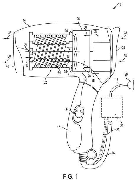 Hair Dryer Circuit Diagram patent us6191930 ionizing hair dryer patents