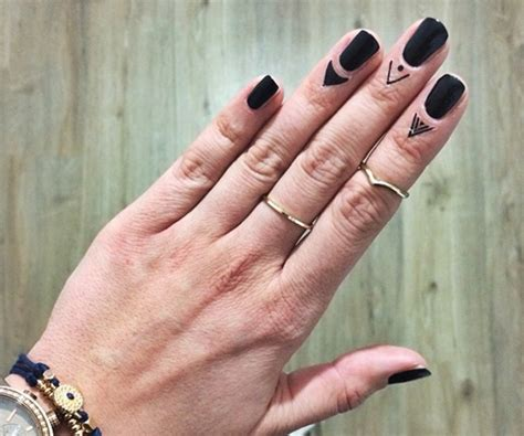 cuticle tattoo a cuticle could your manicure