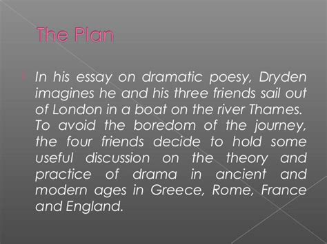 Dryden Essay Of Dramatic Poesy Text by An Essay Of Dramatic Poesy Dryden Cardiacthesis X Fc2