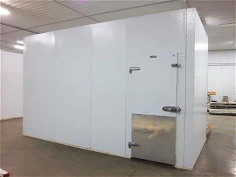 used walk in cooler panels eliason 8 2 quot x 16 x 10 h walk in cooler or freezer barr
