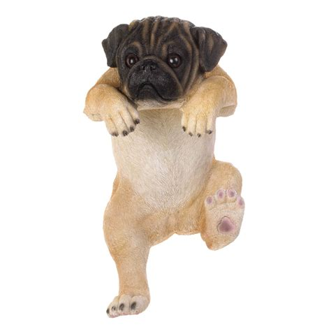 pug home decor climbing pug quot quot decor wholesale at koehler home decor