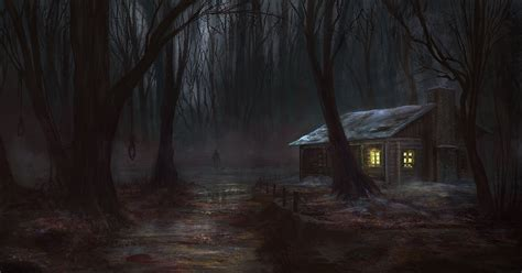 Best Cabin Designs by If You Go Down To The Woods Today By Jackeavesart On