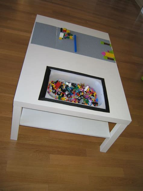 ikea lego table hack nog een ikea hack great place to store little things