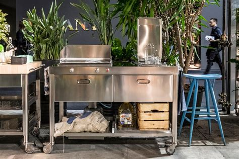 cucine alpes cucine 160 cucine componibili alpes inox architonic