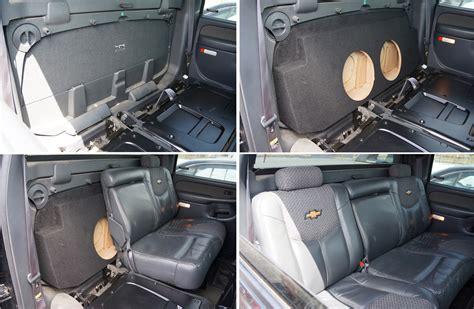 seat subwoofer box 2015 silverado 2015 chevy silverado single cab
